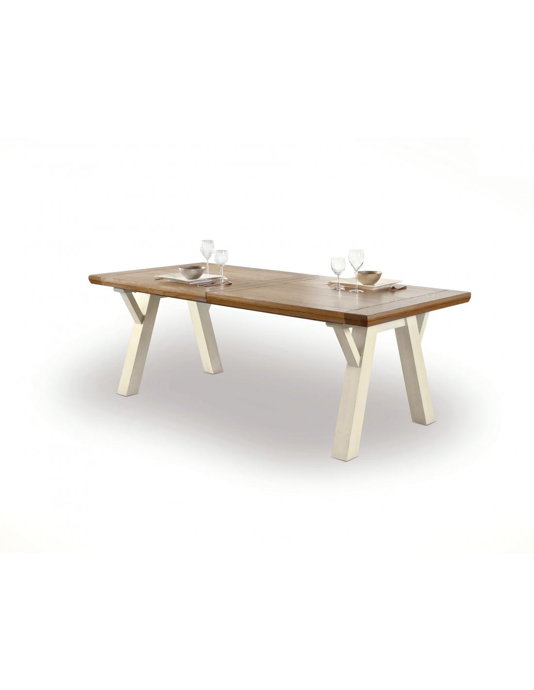 Table Salle à Manger, Table Séjour, Table Chêne Massif